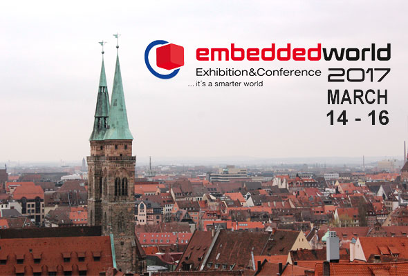 Meet us at the Embedded World 2017 fair