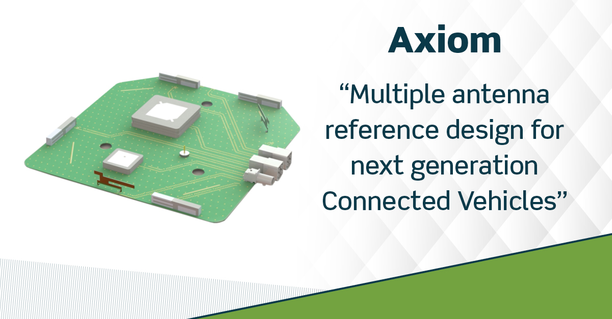 Taoglas Launches Axiom Reference Design for Connected Vehicles