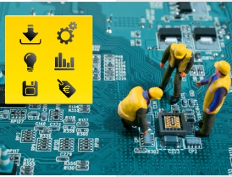 Electronic components supply